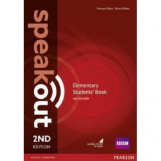 Учебник  Speakout (2nd Edition) Elementary Student's Book with DVD-ROM