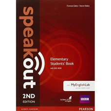 Учебник Speakout (2nd Edition) Elementary Student's Book with DVD-ROM and MyLab Pack