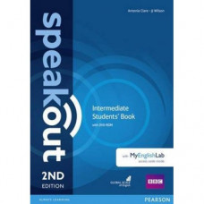 Учебник  Speakout (2nd Edition) Intermediate Student's Book with DVD-ROM and MyLab Pack