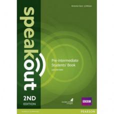 Учебник  Speakout (2nd Edition) Pre-Intermediate Student's Book with DVD-ROM