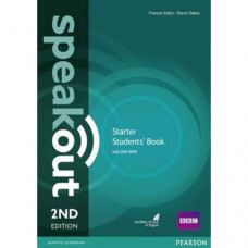 Учебник Speakout (2nd Edition) Starter Student's Book with DVD-ROM