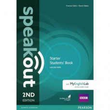 Учебник Speakout (2nd Edition) Starter Student's Book with DVD-ROM and MyLab Pack