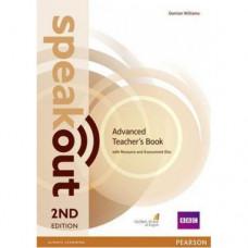 Книга для учителя Speakout (2nd Edition) Advanced Teacher's Guide with CD