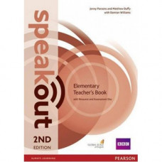 Книга для учителя Speakout (2nd Edition) Elementary Teacher's Guide with CD