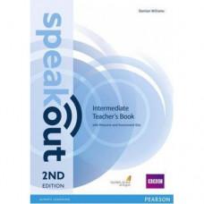 Книга для учителя Speakout (2nd Edition) Intermediate Teacher's Guide with CD
