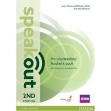Книга для учителя Speakout (2nd Edition) Pre-Intermediate Teacher's Guide with CD