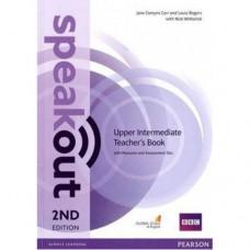 Книга для учителя  Speakout (2nd Edition) Upper-Intermediate Teacher's Guide with CD