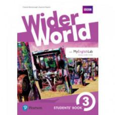 Учебник  Wider World 3 Student's Book with MyEnglishLab