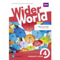 Учебник Wider World 4 Student's Book with MyEnglishLab