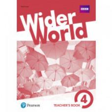 Книга для учителя Wider World 4 Teacher's Book with DVD