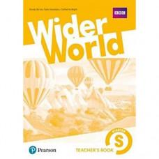 Книга для учителя Wider World Starter Teacher's Book with DVD