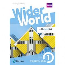 Учебник Wider World 1 Student's Book with MyEnglishLab