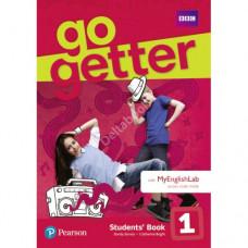 Учебник английского языка Go Getter  Students' Book with MyEnglishLab