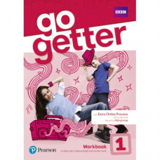 Рабочая тетрадь Go Getter 1 Workbook with Access code for Extra Online Practice