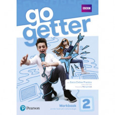 Рабочая тетрадь Go Getter 2 Workbook with Access code for Extra Online Practice