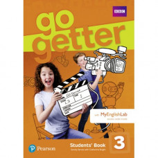 Учебник английского языка Go Getter 3 Students' Book with MyEnglishLab
