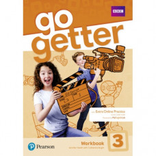 Рабочая тетрадь Go Getter 3 Workbook with Access code for Extra Online Practice