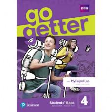 Учебник английского языка Go Getter 4 Students' Book with MyEnglishLab