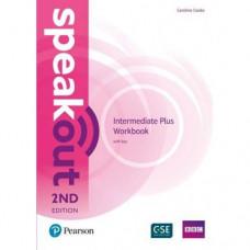 Рабочая тетрадь Speakout (2nd Edition) Intermediate Plus Workbook with Key