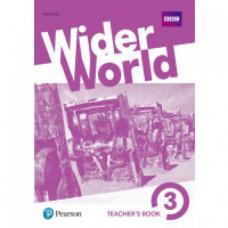 Книга для учителя Wider World 3 Teacher's Book with DVD
