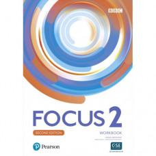 Рабочая тетрадь Focus Second Edition 2 Workbook