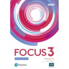 Рабочая тетрадь Focus Second Edition 3 Workbook