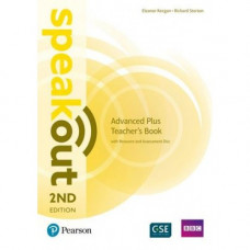 Книга для учителя Speakout (2nd Edition) Advanced Plus Teacher's Guide with CD