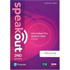 Учебник Speakout (2nd Edition) Intermediate Plus Student's Book with DVD-ROM and MyLab Pack