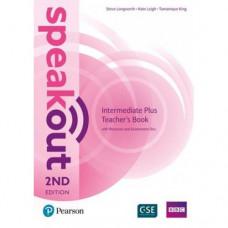 Книга для учителя Speakout (2nd Edition) Intermediate Plus Teacher's Guide with CD
