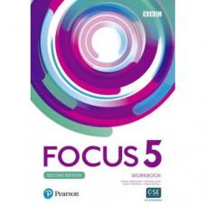 Рабочая тетрадь Focus Second Edition 5 Workbook