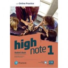 Учебник High Note Level 1 Student's Book with Online Practice