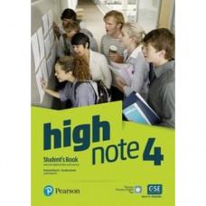 Учебник High Note Level 4 Student's Book