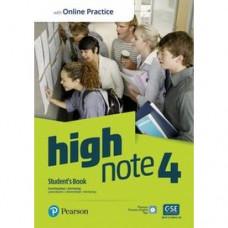 Учебник High Note Level 4 Student's Book with Online Practice