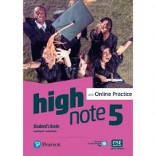 Учебник High Note Level 5 Student's Book with Online Practice
