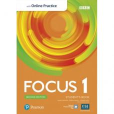 Учебник Focus Second Edition 1 Student's Book with Online Practice
