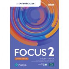 Учебник Focus Second Edition 2 Student's Book with Online Practice