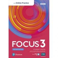 Учебник Focus Second Edition 3 Student's Book with Online Practice