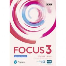 Книга для учителя Focus Second Edition 3 Teacher's Book