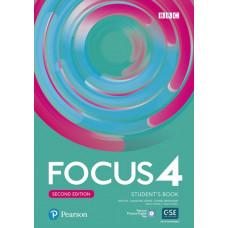 Учебник Focus Second Edition 4 Student's Book