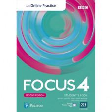 Учебник Focus Second Edition 4 Student's Book with Online Practice