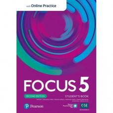 Учебник Focus Second Edition 5 Student's Book with Online Practice
