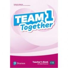 Книга для учителя Team Together 1 Teacher's Book with Digital Resources