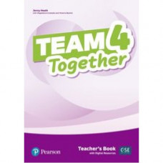 Книга для учителя Team Together 4 Teacher's Book with Digital Resources