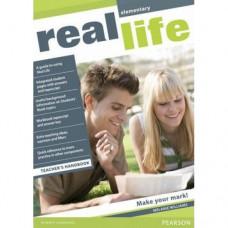 Книга для учителя Real Life Elementary Teacher's Handbook