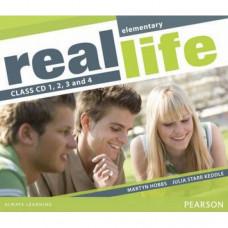 Диски Real Life Elementary Class Audio CDs (4)