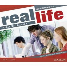Диски Real Life Pre-Intermediate Class Audio CDs (4)