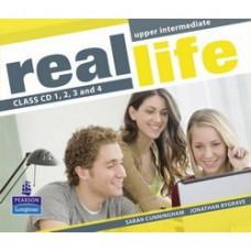 Диски Real Life Upper-Intermediate Class Audio CDs (4)