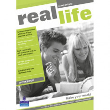Рабочая тетрадь Real Life Elementary Workbook + Multi-ROM
