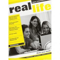 Рабочая тетрадь Real Life Upper-Intermediate Workbook + Multi-ROM