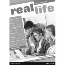 Тесты по английскому языку Real Life Pre-Intermediate Test Pack